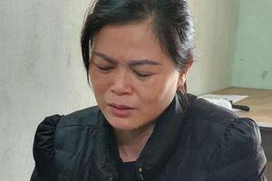 Bắt tạm giam người phụ nữ dìm chồng chết ngạt trong chậu nước