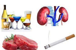 Những thói quen ăn uống người bị suy thận cần lưu ý để tránh bị biến chứng