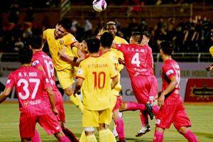 V-League 2021, Hồng Lĩnh Hà Tĩnh thấp thoáng bóng dáng của suất xuống hạng