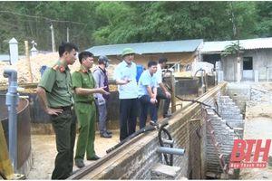 Huyện Quan Hóa rà soát các cơ sở chế biến lâm sản, ngâm ủ bột giấy
