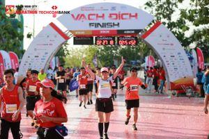 Những con số ấn tượng Giải chạy Marathon Quốc tế TP.HCM Techcombank lần thứ tư