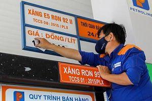 Giá xăng dầu giảm nhẹ từ 16'30 ngày 12/4