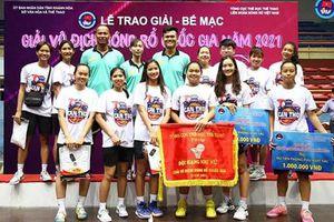 Ðội nữ Cần Thơ đoạt HCB Giải vô địch Bóng rổ quốc gia 2021