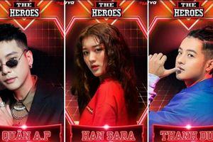 Quân A.P, Han Sara, Thanh Duy là những chiến binh đầu tiên được xác nhận tham gia The Remix mùa 4