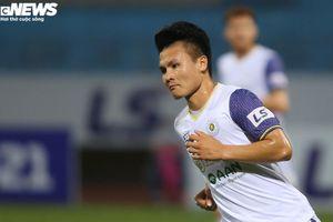 Quang Hải rực sáng ghi bàn, Than Quảng Ninh thua tan nát sau 1 hiệp
