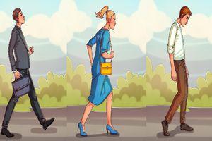 Trắc nghiệm vui: Đoán tính cách của bạn qua kiểu đi bộ