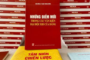 Ra mắt ấn phẩm ''Những điểm mới trong các văn kiện Đại hội XIII của Đảng''