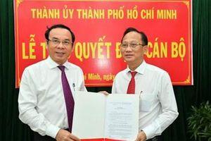 Đồng chí Trần Văn Nam giữ chức Bí thư Huyện ủy Bình Chánh