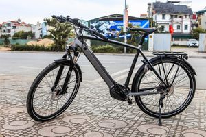Chi tiết xe đạp Triumph Trekker GT giá hơn 100 triệu đồng tại Việt Nam