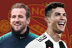Ronaldo hay Kane phù hợp cho Man Utd?