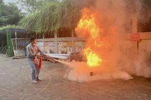 Công an huyện Mê Linh tập huấn phòng cháy, chữa cháy cho gần 3.000 người