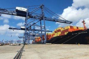 Lần đầu tiên đón tàu container trực tiếp đi từ bờ Tây nước Mỹ
