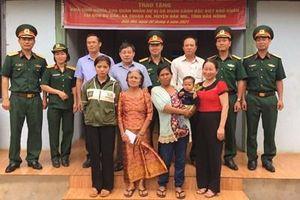 Gia đình chị H'Ngheng đã có nhà mới