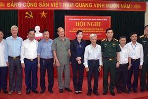 100% cử tri nơi cư trú nhất trí giới thiệu Thượng tướng Phan Văn Giang ứng cử đại biểu Quốc hội
