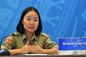 Diệu Linh - người sáng lập đội nữ rà phá mìn đầu tiên ở Việt Nam