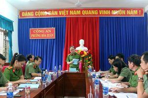 Xây dựng Công an phường Hòa Xuân thành mô hình kiểu mẫu về an ninh trật tự, văn minh đô thị