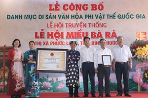 Lễ hội miếu Bà Rá được công nhận di sản văn hóa phi vật thể quốc gia