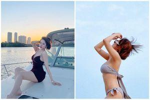 Hot girl Trâm Anh diện '2 mảnh' lộ vóc dáng siêu chuẩn