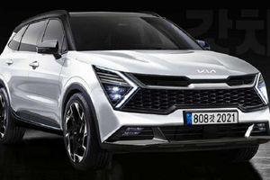 Kia Sportage 2022 sẽ sở hữu khuôn mặt mới, 'mũi hổ' thu nhỏ lại