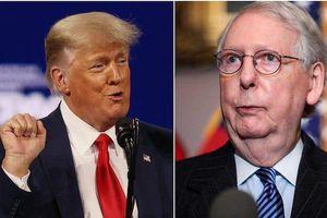 Lãnh đạo đảng Cộng hòa né tranh lời chỉ trích của cựu Tổng thống Trump