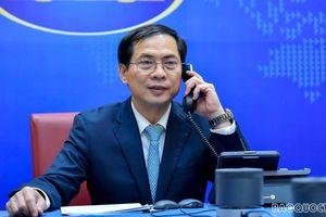 Bộ trưởng Ngoại giao Bùi Thanh Sơn điện đàm Bộ trưởng (thứ hai) Bộ Ngoại giao của Brunei Darussalam