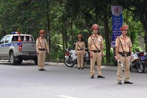 Cảnh sát cả nước vào cao điểm tuần tra, xử lý vi phạm giao thông