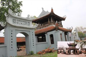 Sai phạm ở di tích quốc gia chùa Đậu: Cấy thêm công trình hoành tráng