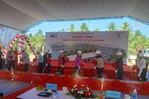 Trungnam Group tặng trường học 60 tỷ cho huyện nghèo ở Bến Tre