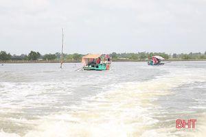 Tăng cường bảo đảm trật tự, an toàn giao thông đường thủy nội địa ở Hà Tĩnh