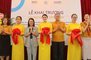 Hải Phòng: Khai trương Văn phòng OSSO hỗ trợ phụ nữ di cư hồi hương