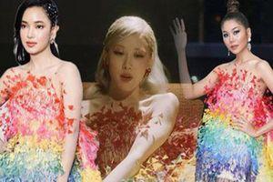 Rosé (Blackpink), Châu Bùi, Thanh Hằng diện váy 600 triệu đồng của Công Trí: Ai mặc đẹp nhất?