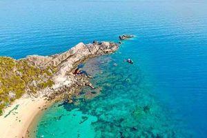 Vẻ đẹp hoàn mỹ của 'tiểu Maldives' ở miền Trung