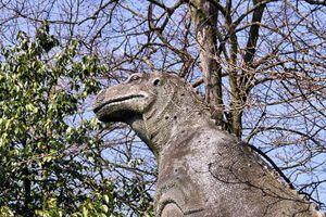 Khung cảnh hoang tàn trong công viên khủng long bị bỏ hoang ở Anh