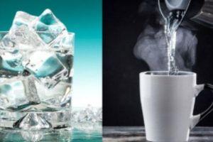 Uống nước ấm hay nước lạnh mới tốt cho sức khỏe?