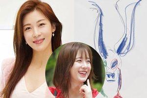 'Hoàng hậu Ki' Ha Ji Won nhận gạch đá vì bán tranh với nét vẽ thua cả trẻ con mẫu giáo, bị so sánh với Goo Hye Sun