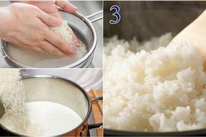 Thả thêm 1 thứ này vào nồi rồi nấu, đảm bảo cơm chín thơm mềm, hạt nào cũng căng bóng, gấp đôi dinh dưỡng