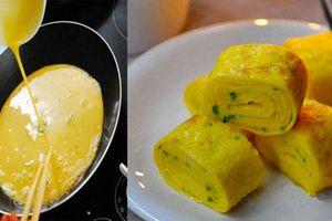 Đừng vội đập ngay trứng vào chảo, cứ cho thêm 1 thứ này đảm bảo hết sạch mùi tanh lại bổ hơn nhiều lần