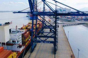 Cảng SSIT đón tàu container đầu tiên đi bờ Tây nước Mỹ