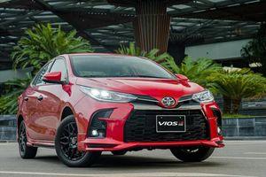 Toyota Vios tăng doanh số gấp 4 lần, tìm đường trở lại ngôi vương