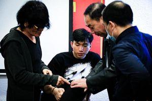 Đoàn Văn Hậu báo tin vui cho HLV Park Hang Seo trước vòng loại World Cup 2022