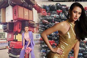 Khánh Vân tuyên bố đem 200 outfits đi Miss Universe, đại diện Indonesia liền 'đàn áp' với container 400 bộ