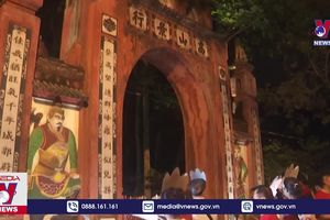 Phú Thọ mở tour du lịch đêm Đền Hùng