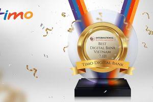 Timo tiếp tục được bình chọn là 'Ngân hàng số tốt nhất Việt Nam'