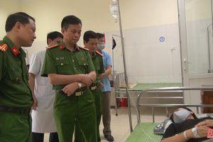 Lãnh đạo Công an tỉnh thăm, động viên cán bộ hết lòng vì nhiệm vụ cấp CCCD