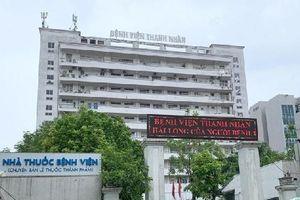 Xác minh việc mua sắm trang thiết bị y tế tại BV Thanh Nhàn và BV Tim Hà Nội do Công ty BMS cung cấp