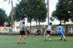 Khai mạc Giải bóng đá mini nam tranh Cúp Công đoàn lần thứ IX năm 2021