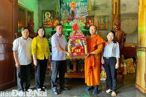 Ủy ban MTTQ Việt Nam tỉnh thăm, chúc Tết cổ truyền Chol Chnam Thmay