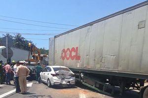 Tai nạn giao thông liên hoàn trên Quốc lộ 1
