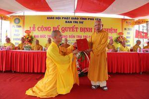 Phú Yên: Bổ nhiệm trụ trì chùa Hải Tràng