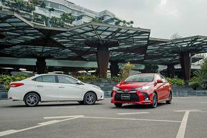 Toyota Vios 2021: Chiếc xe an toàn nhất phân khúc cho gia đình Việt